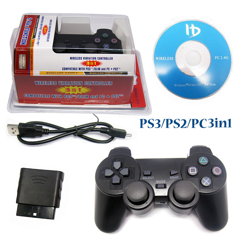 PS3/PS2/PC 3in1 Controller_Jungepad Technology Co ,Ltd